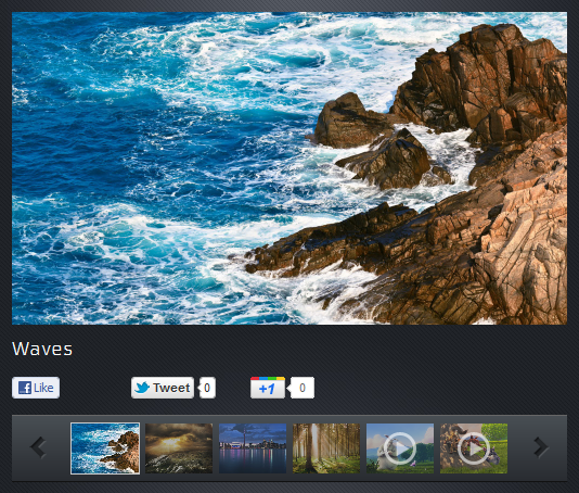 HTML5 Photo and Video Gallery 1.2.6